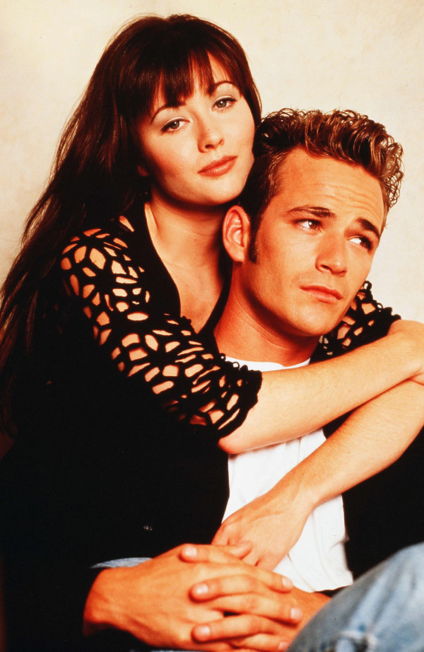 "Shannen Doherty i Luke Perry, ""Beverly Hills 90210"""