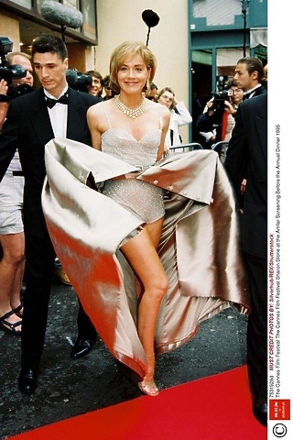 Sharon Stone w Cannes