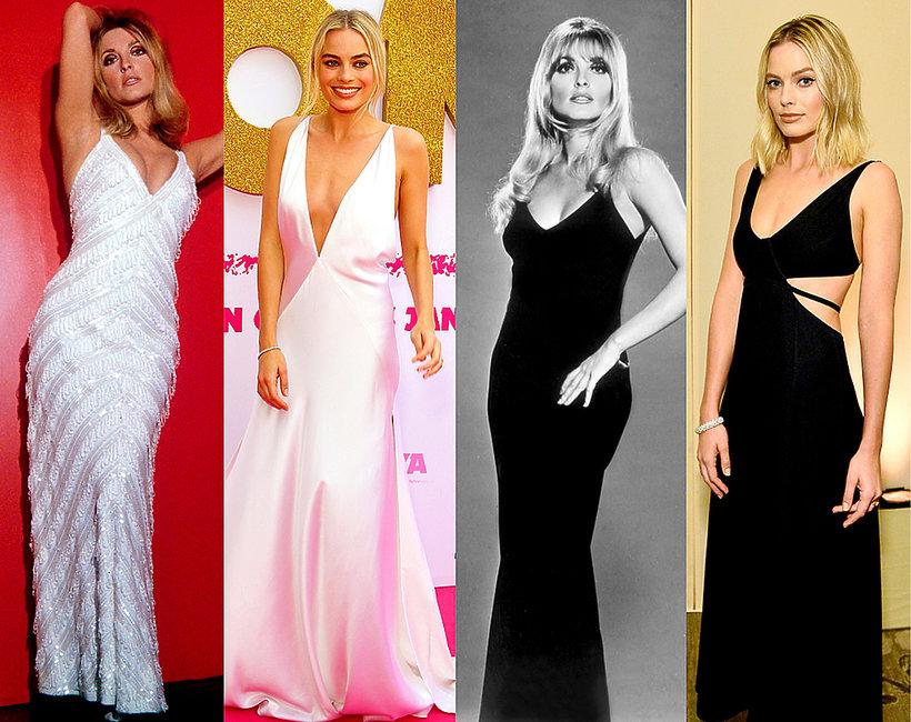 Sharon Tate, Margot Robbie, podobne stylizacje