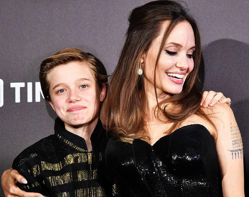 Shiloh, Angelina Jolie