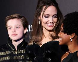 Angelina Jolie wybrała się z dziećmi na zakupy. Wygląd Shiloh zaskoczył internautów