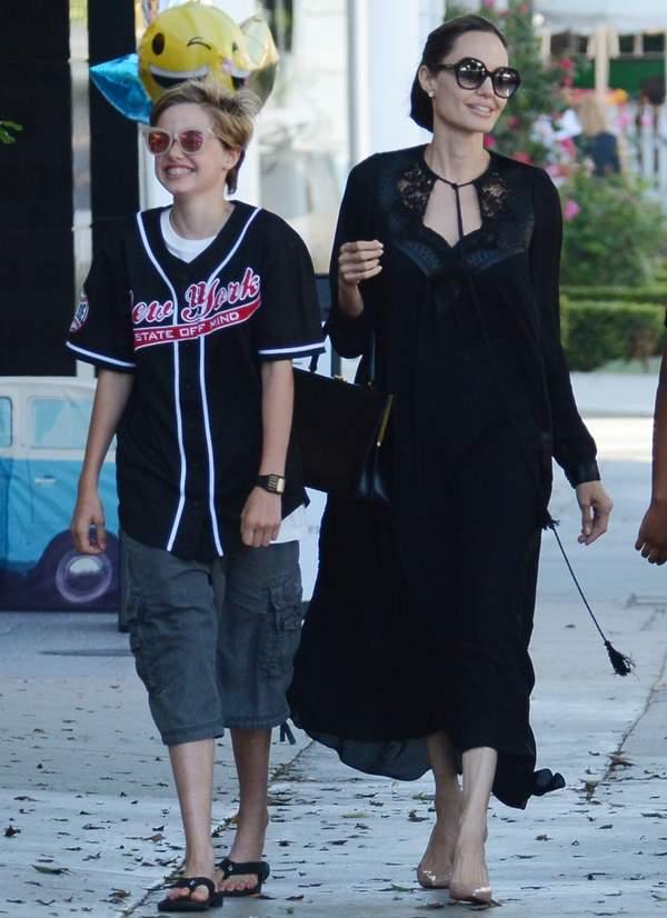 Shiloh Jolie-Pitt, Angelina Jolie córka Angeliny Jolie
