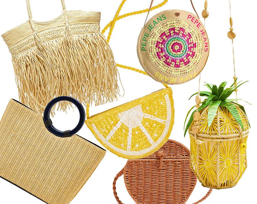 shopping, koszyki na plażę, lato 2019