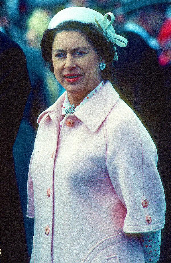 Siostra królowej Elżbiety II, księżniczka Małgorzata