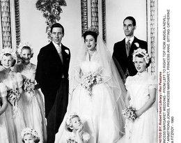 Siostra królowej Elżbiety II księżniczka Małgorzata ślub