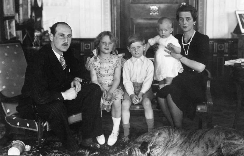 Siostra księcia Filipa: księżniczka Teodora z rodziną