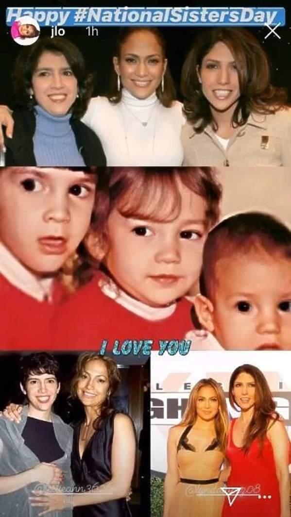Siostry Jennifer Lopez, rodzeństwo gwiazd