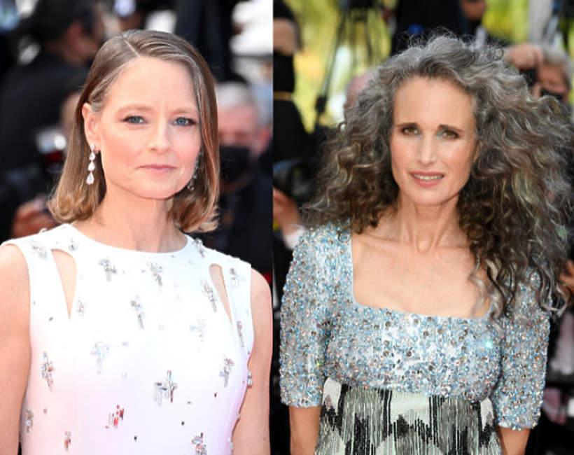 siwe włosy, trend