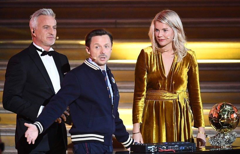 skandal na gali Złotej Piłki: Martin Solveig i Ada Hegerberg