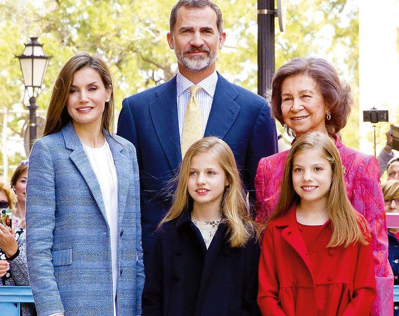 Skandal na hiszpańskim dworze, hiszpańska rodzina królewska, królowa Letycja, królowa Zofia