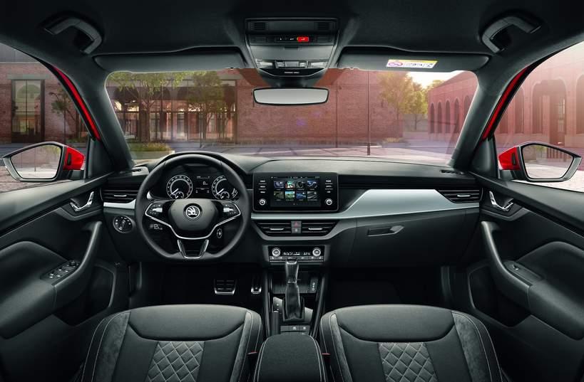 SKODA Kamiq - nowy SUV, wnętrze