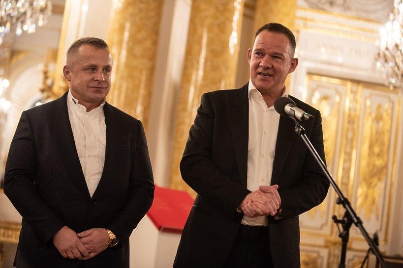 Skrzypce Stradivarius Polonia, mecenasi Roman Ziemian i Stephan Morgenstern