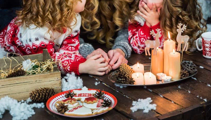 Słodkie święta z rodziną