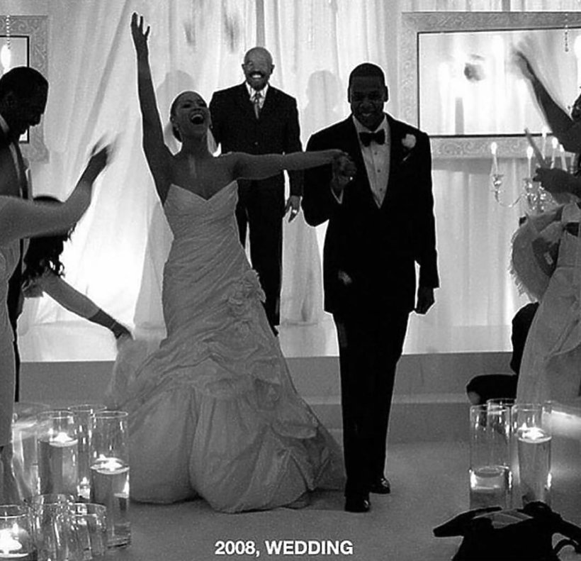 Ślub Beyonce i Jaya Z