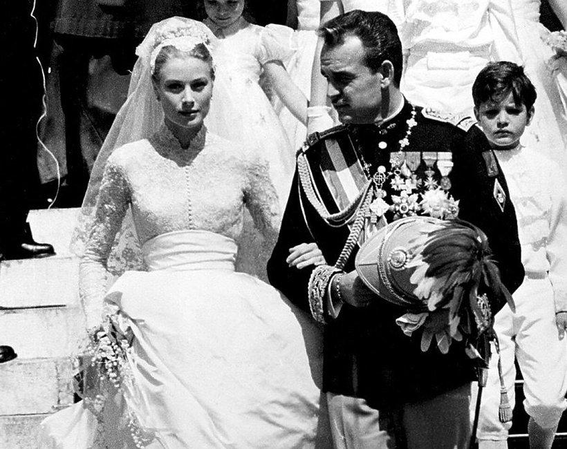 ślub Grace Kelly i książę Monako Rainier III Grimaldi