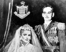 Ślub Grace Kelly i księcia Rainiera III Grimaldiego