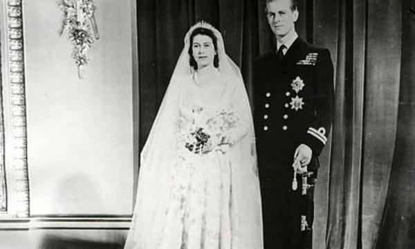 ślub królowej Elżbiety II i księcia Filipa