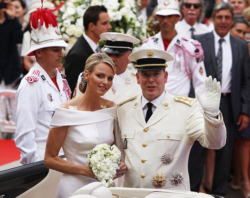 Ślub księcia Alberta i księżnej Charlene Wittstock Monako, królewski ślub