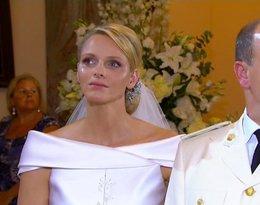 ślub księcia Alberta, Charlene Wittstock płacze