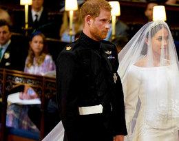 Ślub księcia Harry'ego i Meghan Markle, pierwsze wspólne ślubne zdjęcie Harry'ego i Meghan