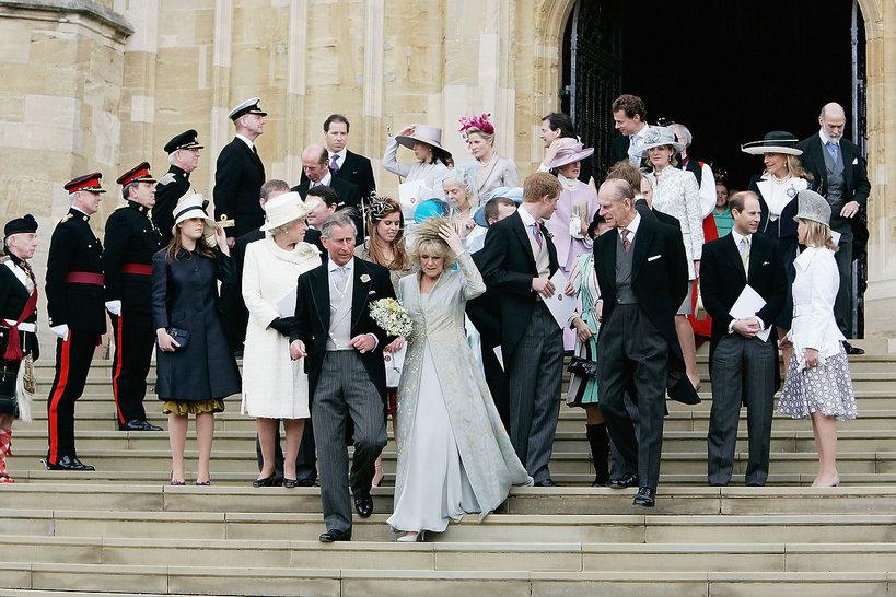 ślub księcia Karola, książę Karol, księżna Camilla