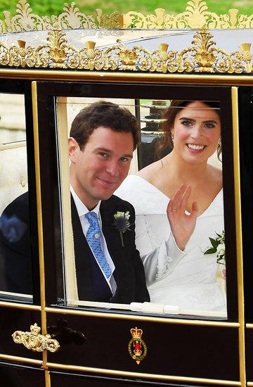 Ślub księżniczki Eugenii i Jacka Brooksbanka, ślub Eugenii