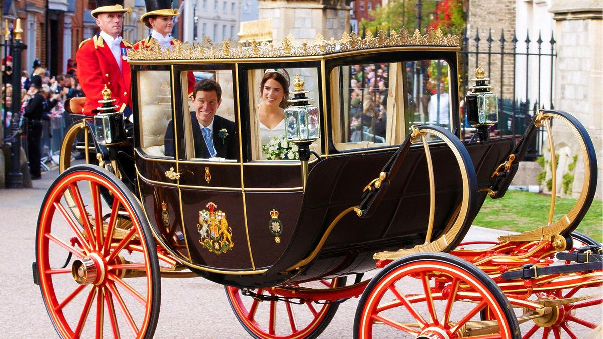 ślub księżniczki Eugenii, karoca