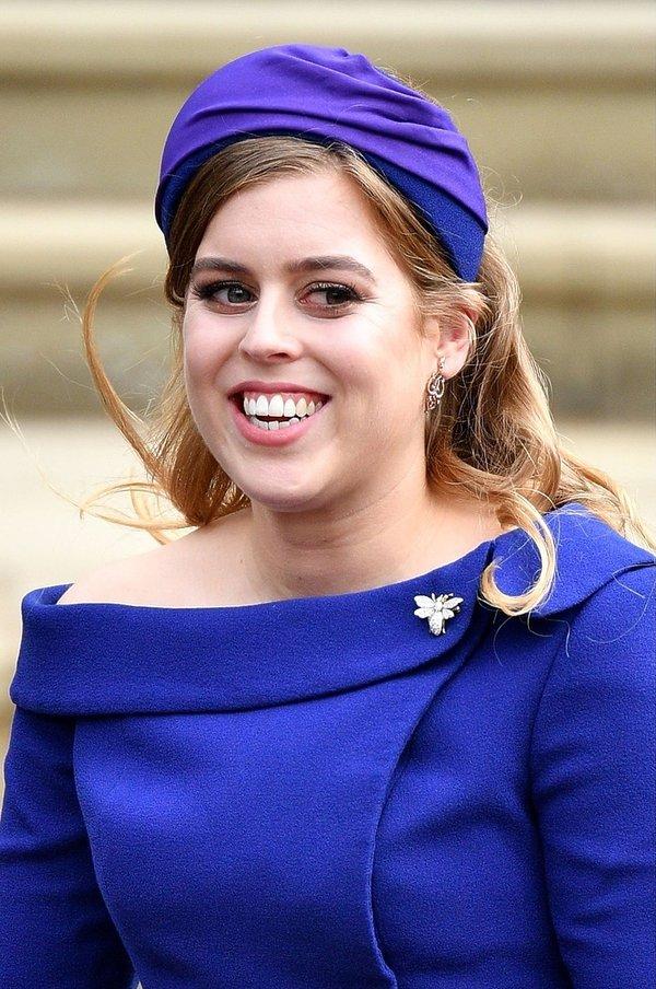 Ślub księżniczki Eugenii, księżniczka Beatrycze
