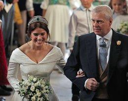 Ślub księżniczki Eugenii: Sarah Ferguson, książęAndrzej