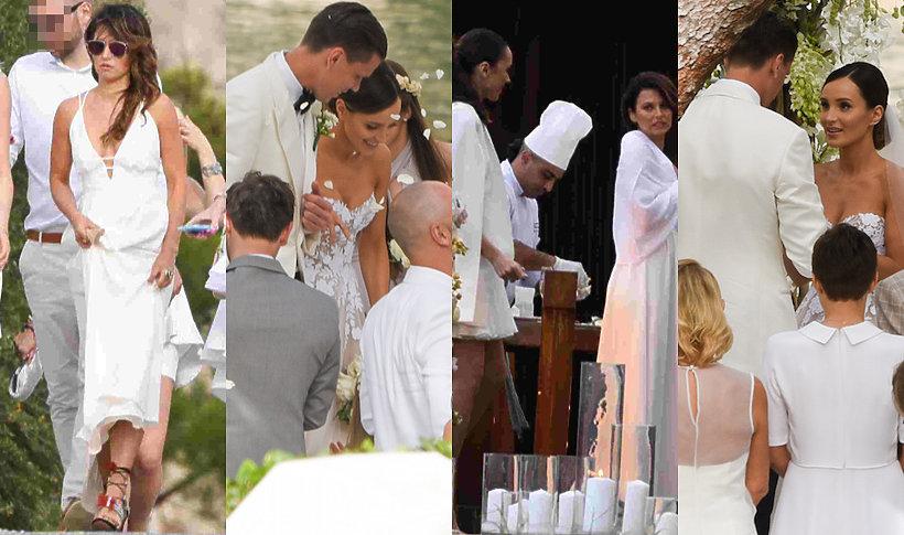 Ślub Mariny i Wojtka Szczęsnych