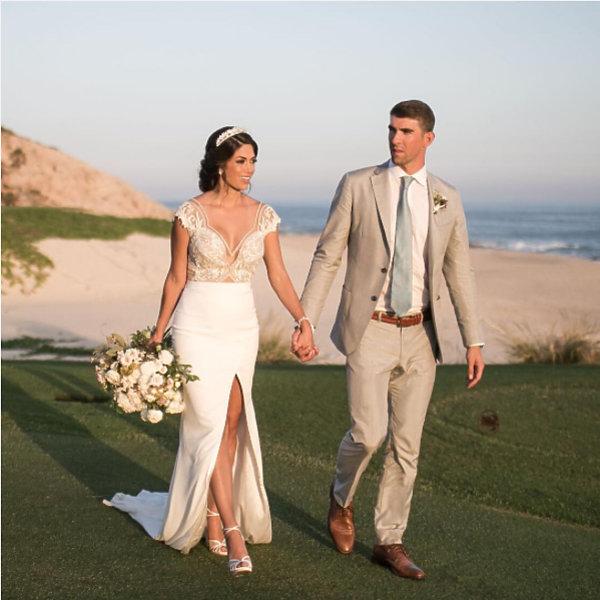 Ślub Michaela Phelpsa