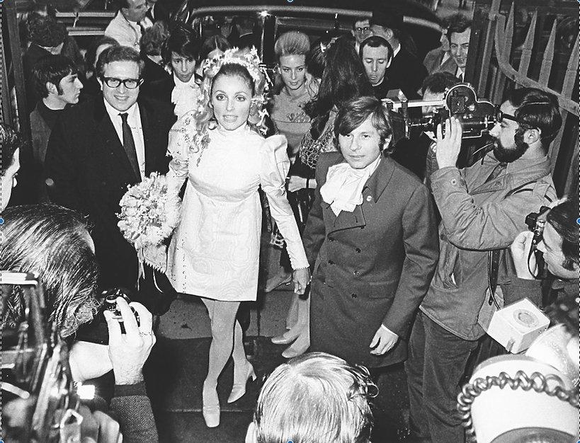 Ślub Sharon Tate i Romana Polańskiego