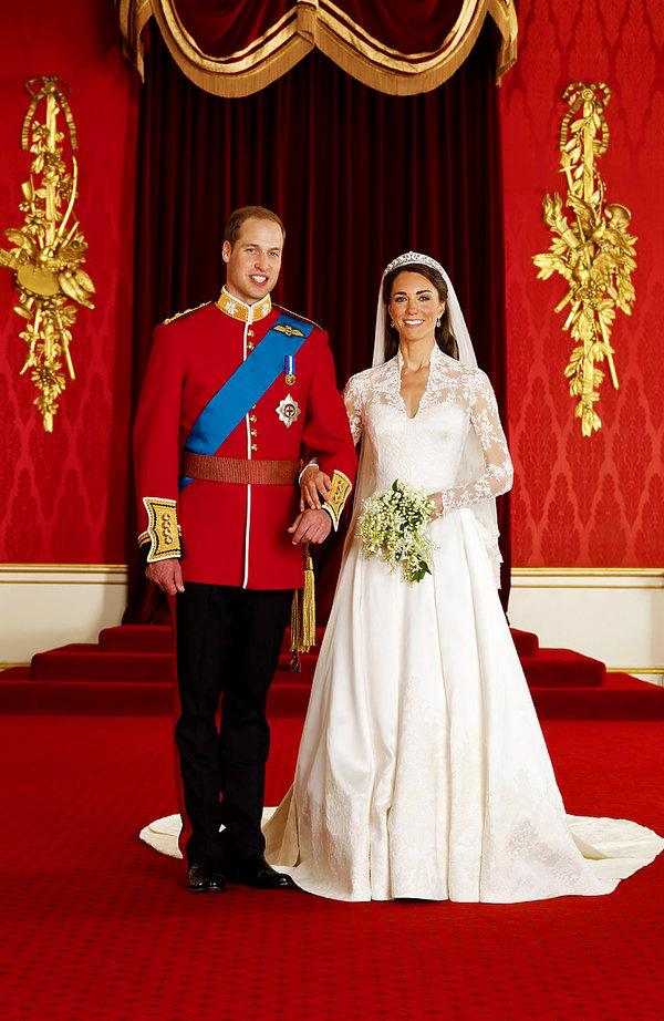 Śluby królewskie, ślub Kate i Williama, ślub księżnej Charlene i księcia Alberta, królowa Elżbieta II ślub