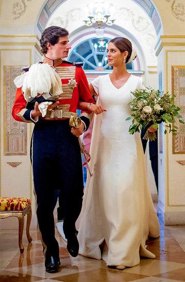 Śluby królewskie, ślub księcia Huescara