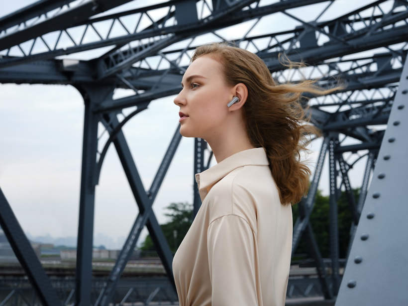 Słuchawki Huawei FreeBuds Pro z inteligentna dynamiczną redukcją szumu