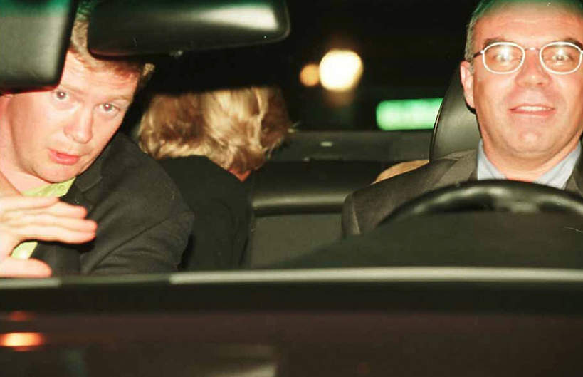 śmierć księżnej Diany wypadek, ochroniarz Diany: Trevor Rees-Jones