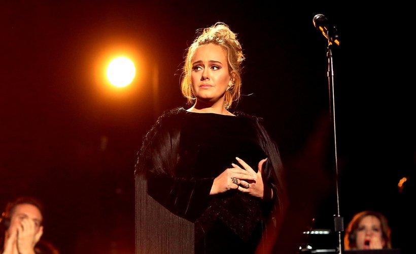 smutna Adele