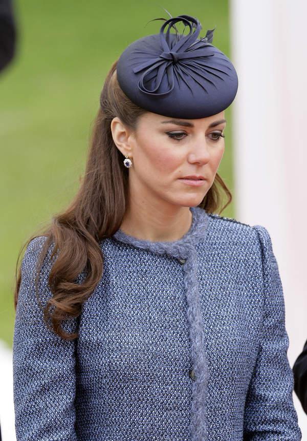 Smutna Kate Middleton