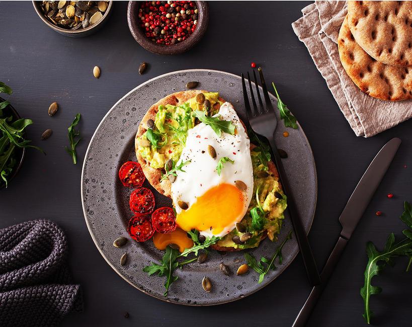 śniadanie, trendy 2020