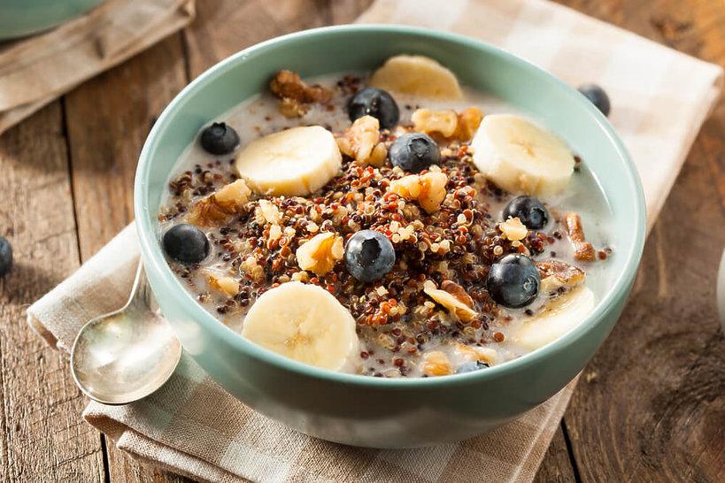 śniadanie z komosą ryżową - przepis
