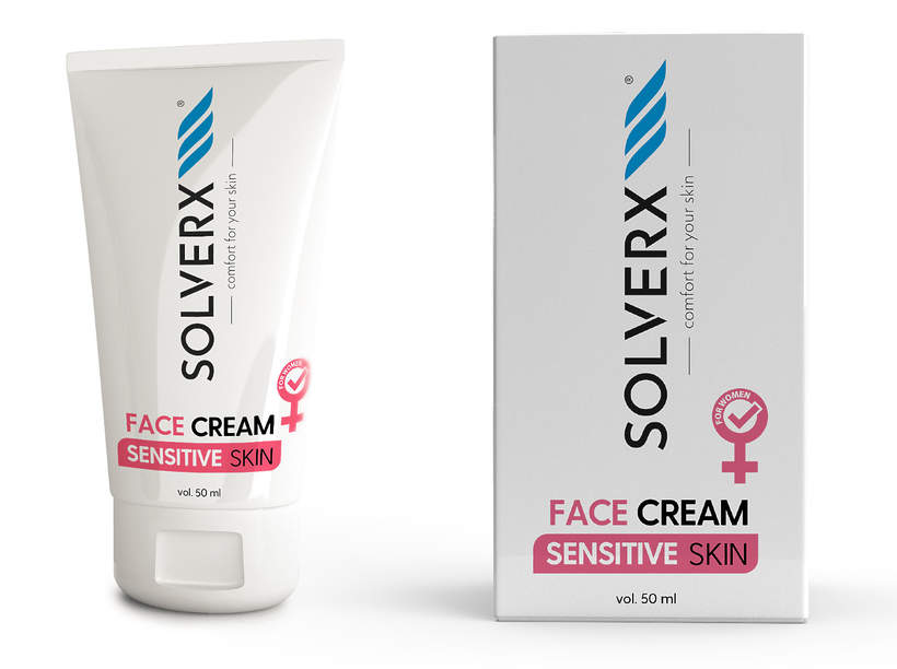 Solverx Sensitive Skin Woman Face Cream