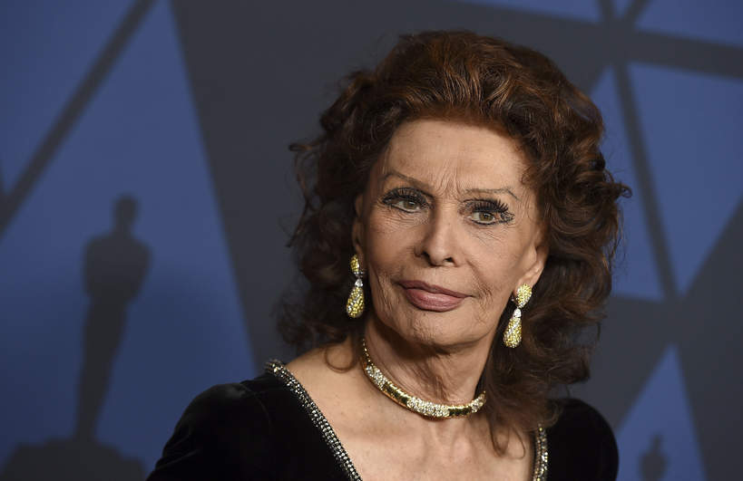 Sophia Loren, 2019