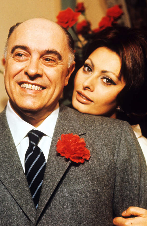 Sophia Loren, Carlo Ponti