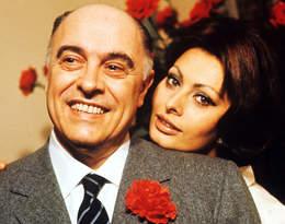 Ich miłość potępił Watykan.Sophia Loren i Carlo Ponti byli razem 40 lat
