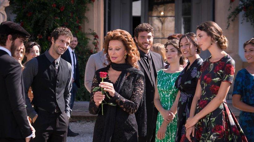 Sophia Loren w reklamie perfum Dolce Rosa Excelsa