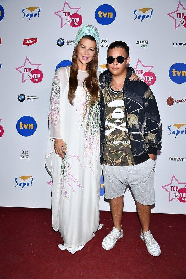 Sopot Top of the Top Festival 2018, Edyta Górniak i Allan Krupa