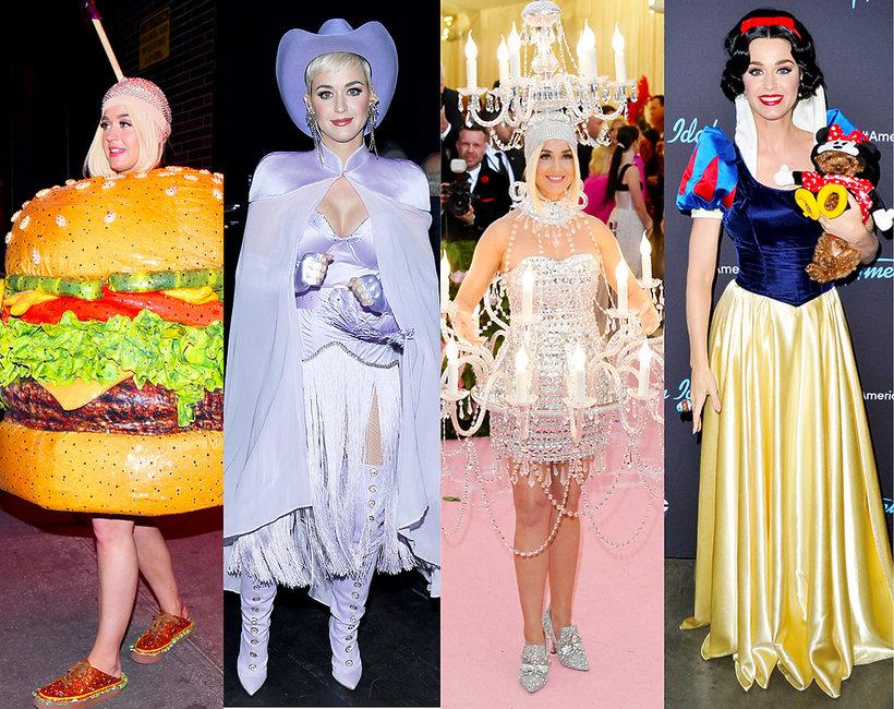 spektakularne kreacje Katy Perry