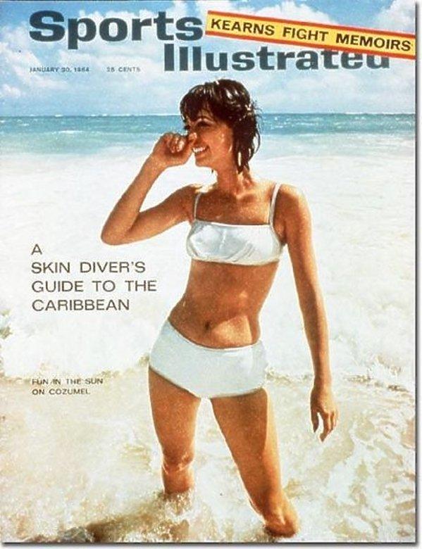 Sports Illustrated Swimsuit Issue pierwsza okładka