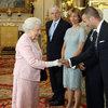 Spotkanie królowej Elżbiety II z Davidem BeckhamemDavid Beckham