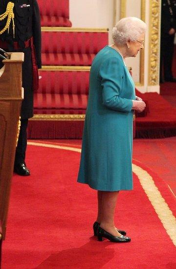 spotkanie królwej Elżbiety II z Anna Wintour